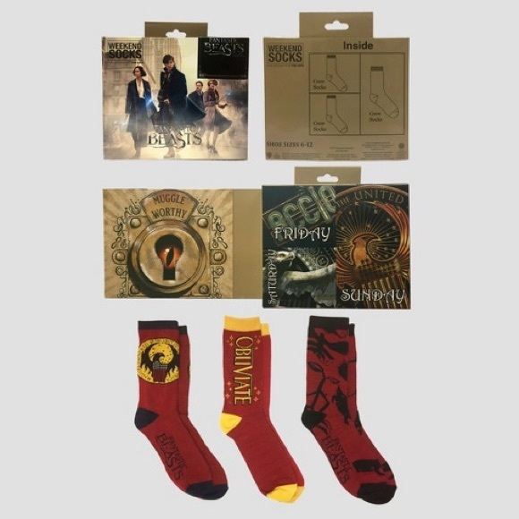 c13c1222de80 harry potter Underwear & Socks | Fantastic Beast Mens Socks | Poshmark